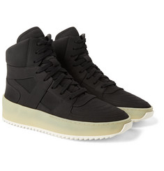 Fear of God - Basketball Nubuck High-Top Sneakers