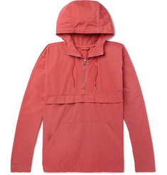Mr P. Garment-Dyed Cotton Hooded Jacket