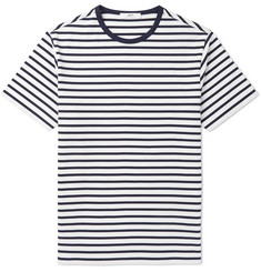 Mr P. - Striped Cotton-Jersey T-Shirt
