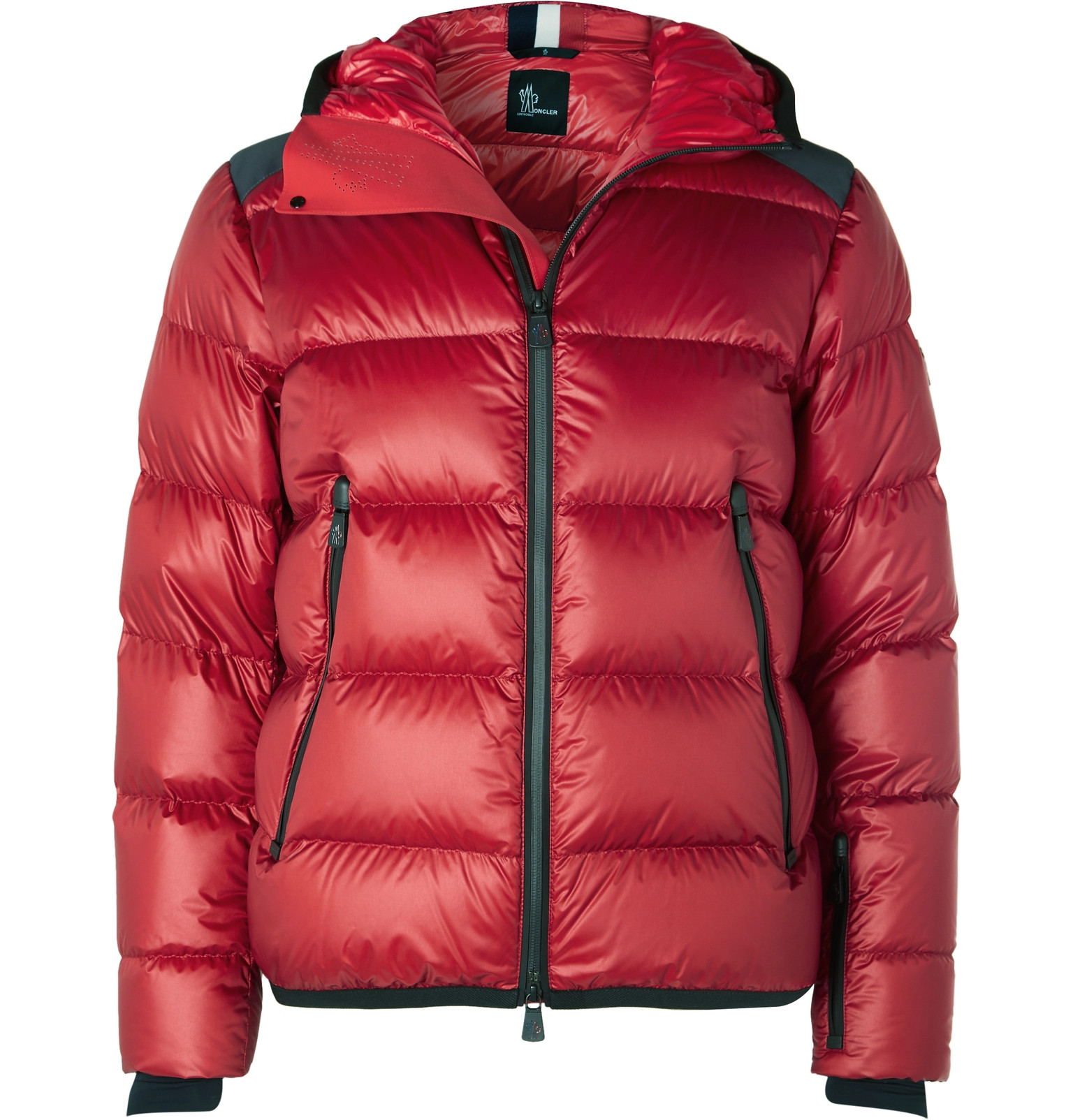 Moncler Grenoble - Hintertux Quilted Hooded Down Ski Jacket 5403d7226