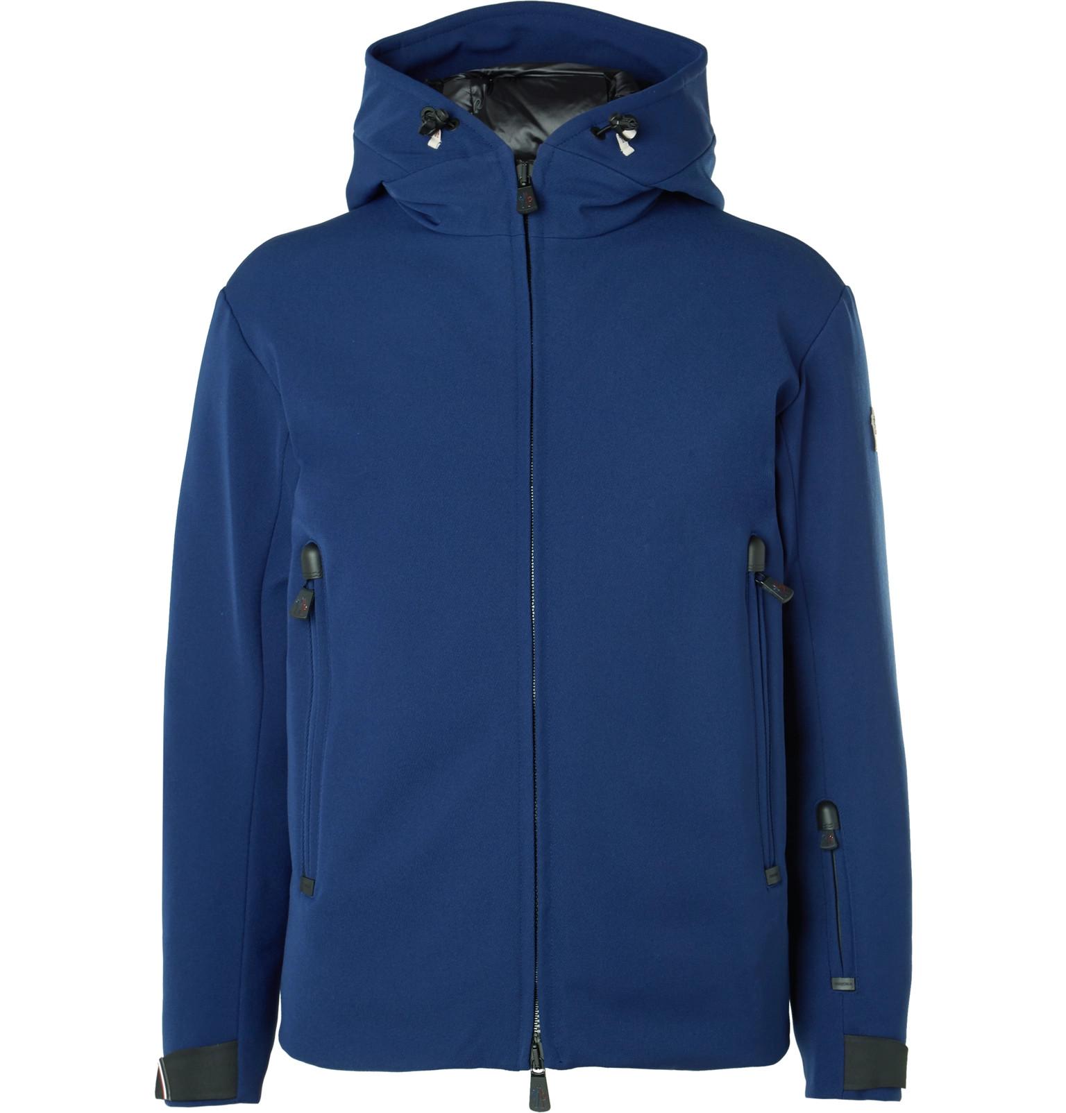 9efc105d186b ... norway moncler grenoblepraz stretch twill hooded down ski jacket cfb4e  b4e6e