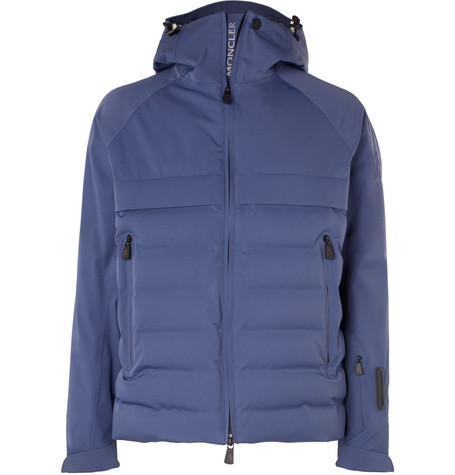 Quilted Down Grenoble Twill Ski Stretch Jacket Moncler Achensee EzUqqf