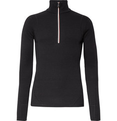 Moncler Grenoble Virgin Wool Half-Zip Base Layer