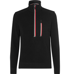 Moncler Grenoble Stretch-Fleece Half-Zip Base Layer