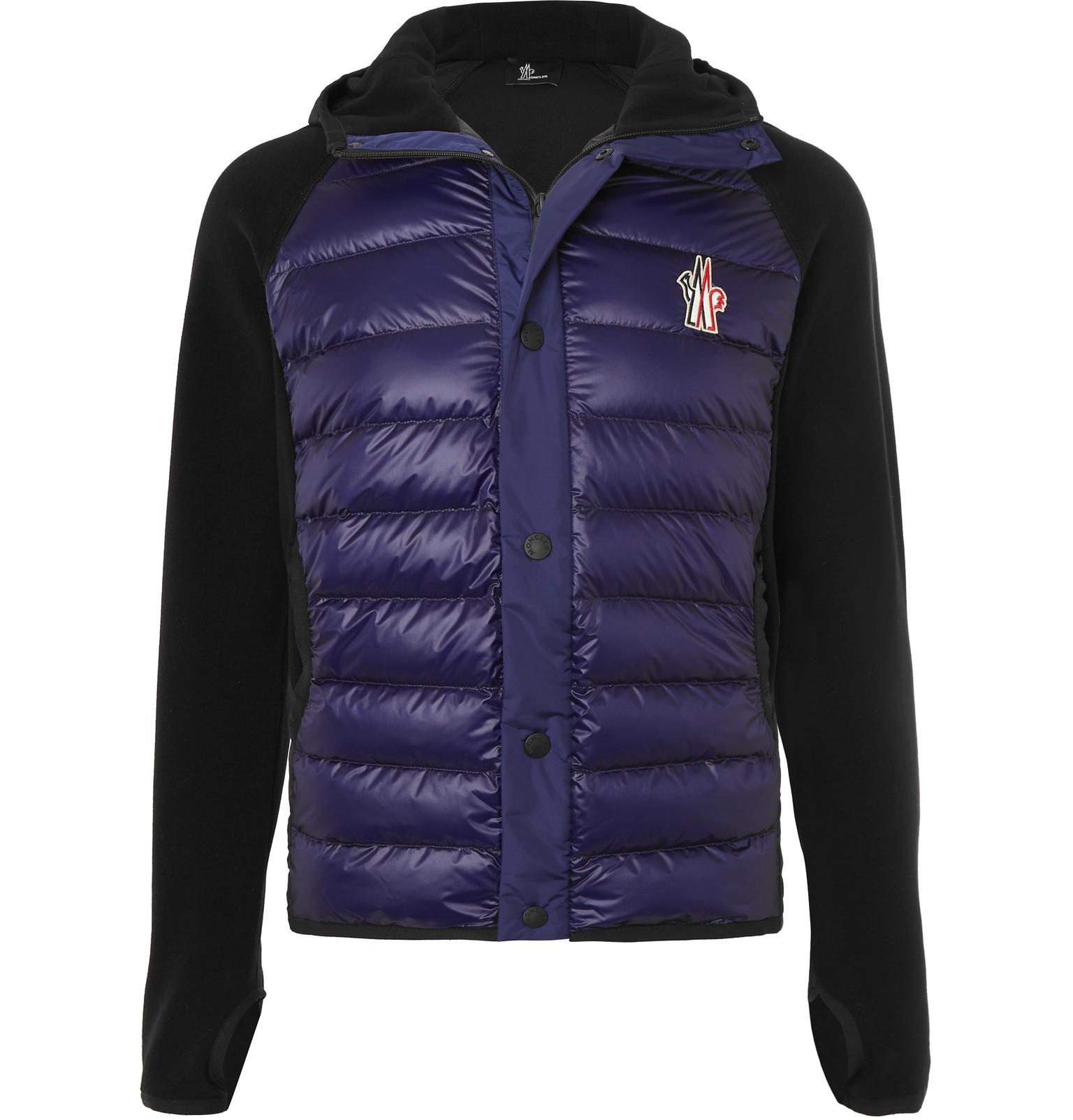 sneakers for cheap b9c43 56ce9 Moncler Grenoble - Shell-Panelled Fleece Hooded Ski Jacket