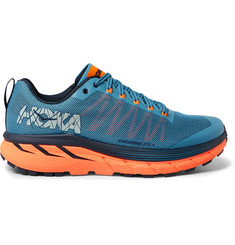 Hoka One One - Challenger ATR 4 Rubber-Trimmed Mesh Trail Running Sneakers