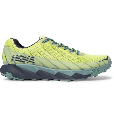 Hoka One One - Torrent Rubber-Trimmed Mesh Sneakers a3e85471edf