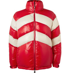 Moncler Grenoble - Golzern Colour-Block Quilted Down Ski Jacket