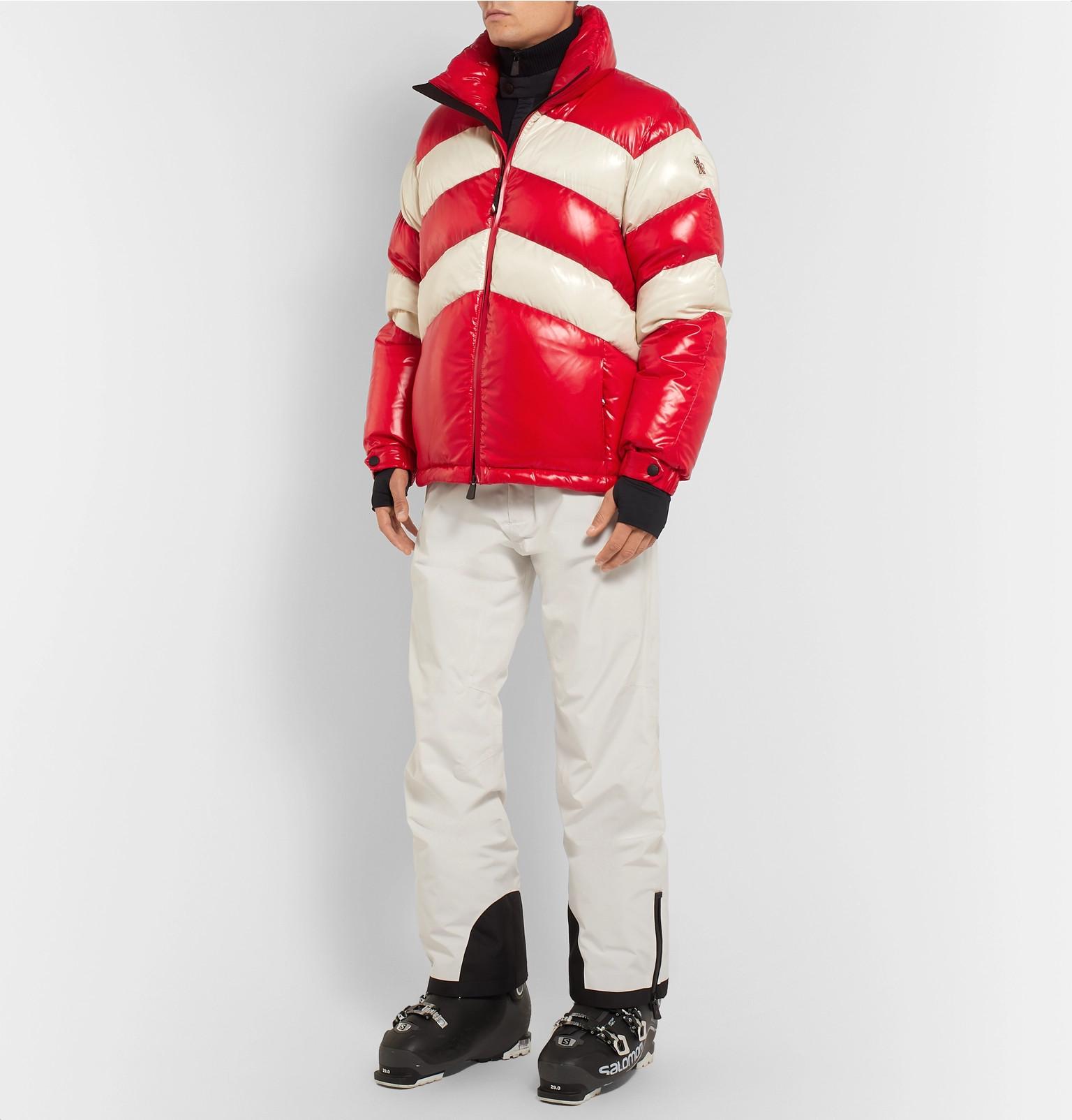 e162e3f1d972 Moncler Grenoble - Golzern Colour-Block Quilted Down Ski Jacket