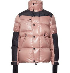 Moncler Grenoble - Panelled Quilted Hooded Down Ski Jacket