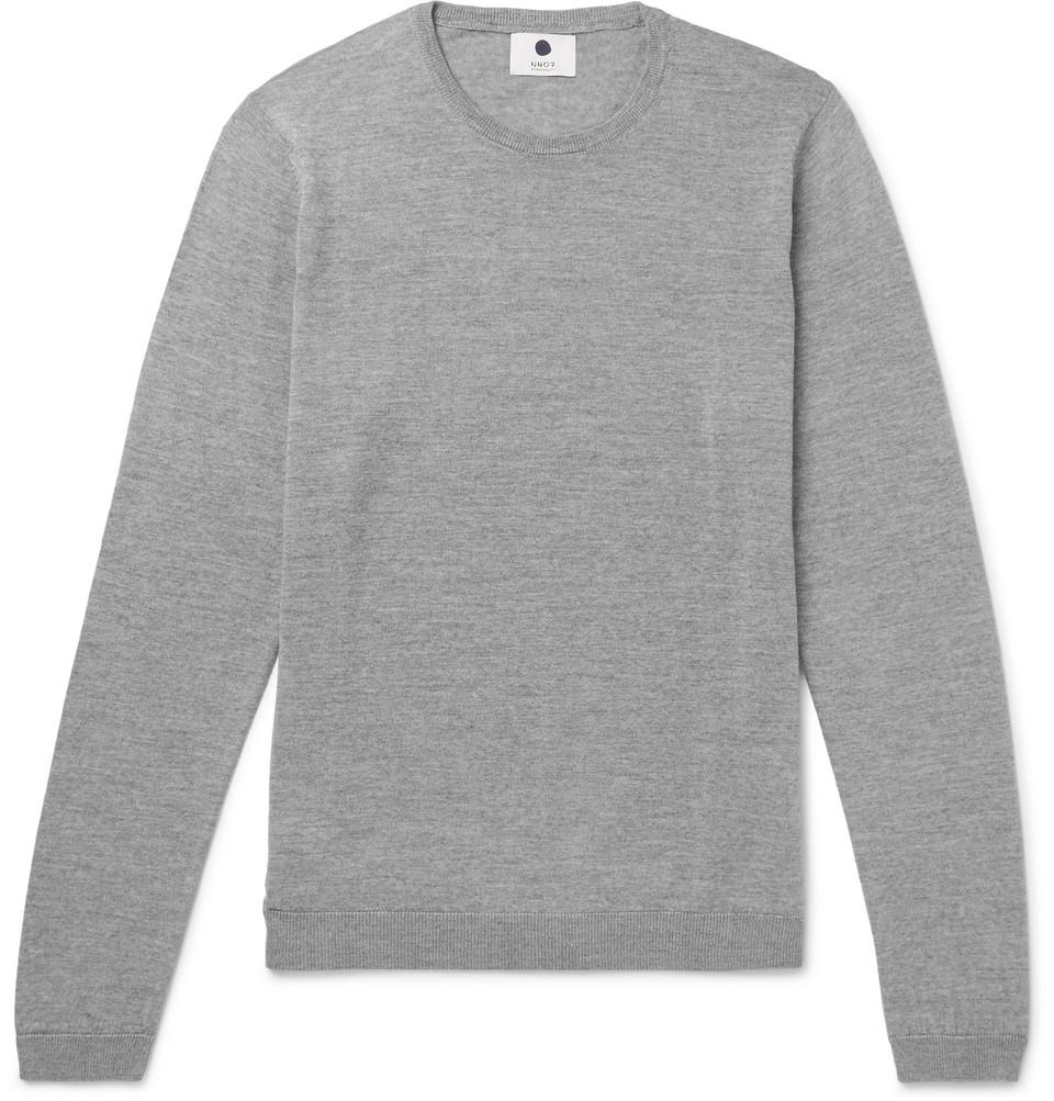 Bild på Barca Mélange Merino Wool Sweater - Gray