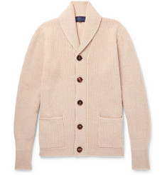 Thom Sweeney - Slim-Fit Shawl-Collar Cashmere Cardigan