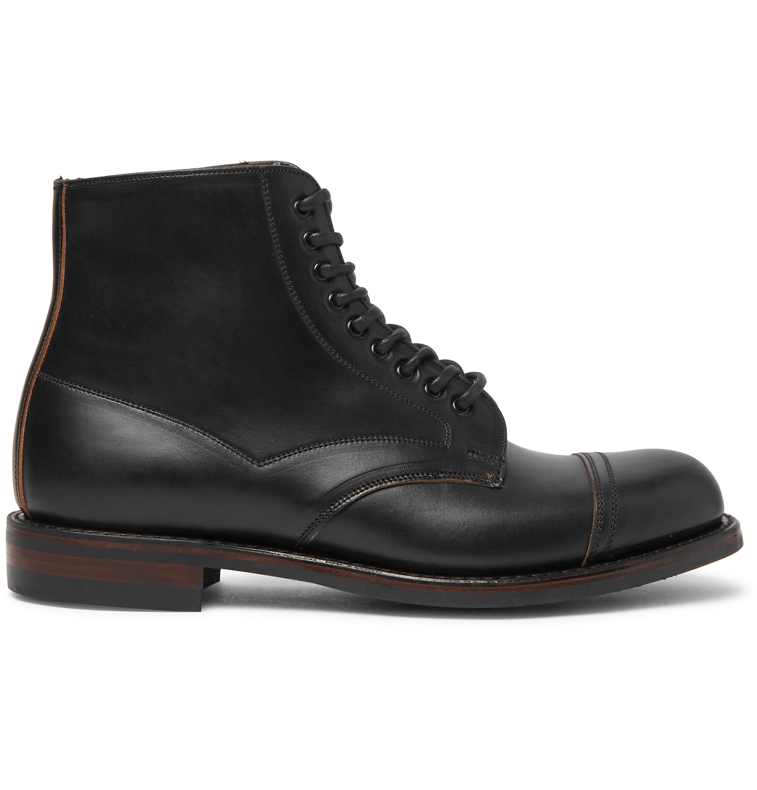 Cheaney Jarrow Toe Boots Leather Cap UxUOr