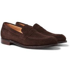 Cheaney - Hadley Suede Penny Loafers