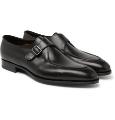 Edward Green - Clapham Leather Monk-Strap Shoes
