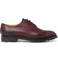 Edward Green Caudale Textured-Leather Derby Shoes
