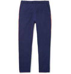The Elder Statesman Slim-Fit Tapered Fleece-Back Cotton-Jersey Sweatpants
