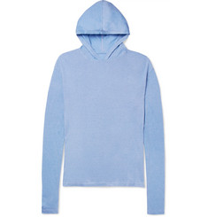The Elder Statesman - Cotton and Cashmere-Blend Hoodie