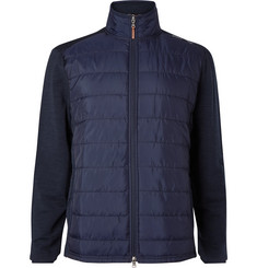 RLX Ralph Lauren Quilted Shell and Stretch-Wool Golf Jacket
