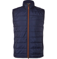 RLX Ralph Lauren Quilted Shell and Stretch-Wool Golf Gilet