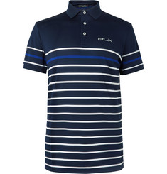 RLX Ralph Lauren - Striped Tech-Piqué Polo Shirt