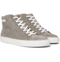 Ralph Lauren Purple Label - Jerold Suede High-Top Sneakers