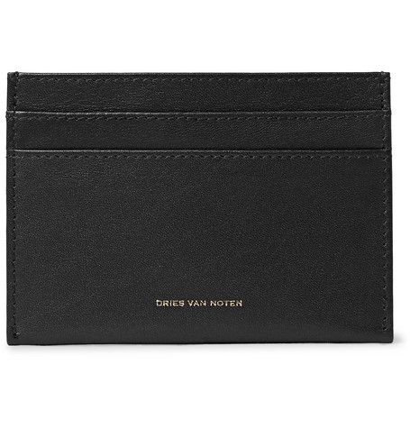 Leather Cardholder by Dries Van Noten