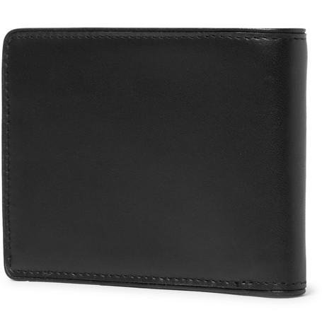 Leather Billfold Wallet by Dries Van Noten