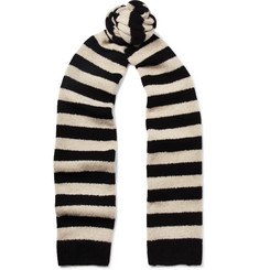 Dries Van Noten - Striped Merino Wool-Blend Scarf