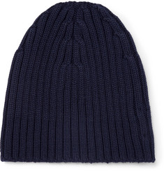 Dries Van Noten Ribbed Wool Beanie