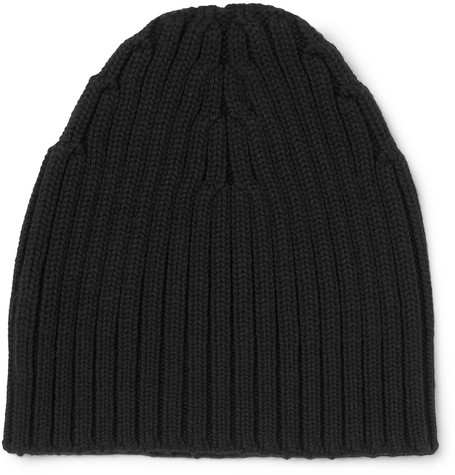 Ribbed Wool Beanie by Dries Van Noten