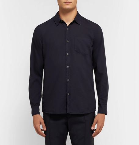 Corbin Cotton Voile Shirt by Dries Van Noten