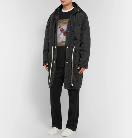 Oversized Embroidered Printed Loopback Cotton Jersey Sweatshirt by Dries Van Noten