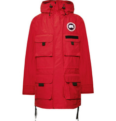 Junya Watanabe + Canada Goose Velcro-Trimmed Shell Hooded Parka