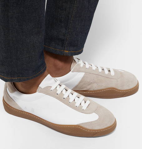 c586ca24dacd lars-suede-and-leather-sneakers by acne-studios