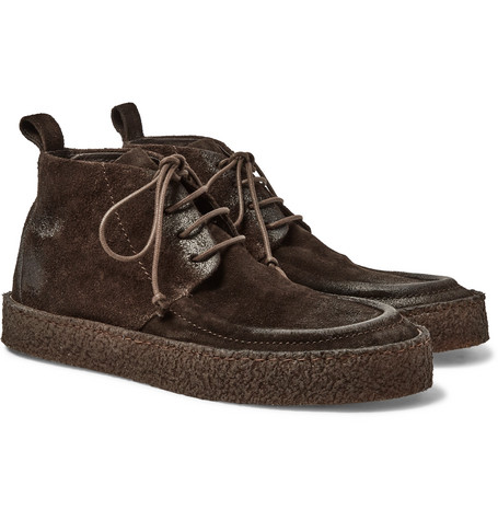 Washed-suede Chukka Boots