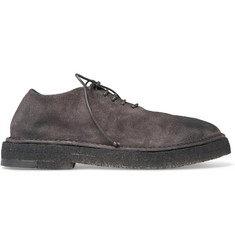 Marsell Washed-Suede Derby Shoes