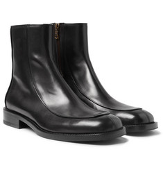 Dries Van Noten - Polished-Leather Boots