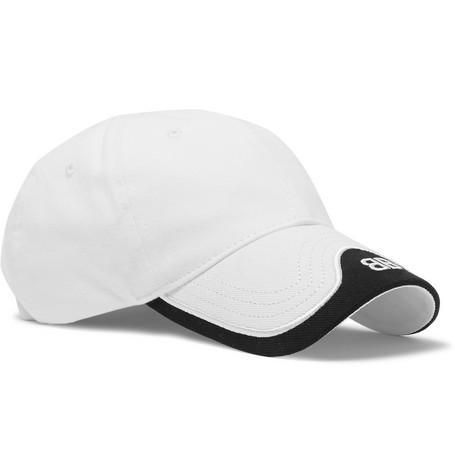 8ba7cf95 Balenciaga - Logo-Embroidered Cotton-Twill Baseball Cap