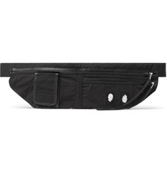 Rick Owens Leather-Trimmed Shell Belt Bag