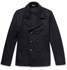 Tomas Maier - Double-Breasted Wool-Blend Felt Peacoat