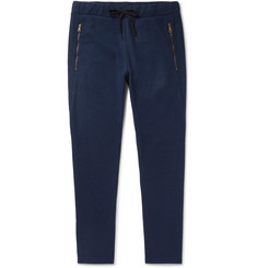 Tomas Maier Slim-Fit Tapered Felt Drawstring Trousers