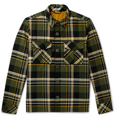 Tomas Maier - Checked Cotton Overshirt