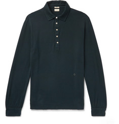 Massimo Alba Cotton and Cashmere-Blend Polo Shirt