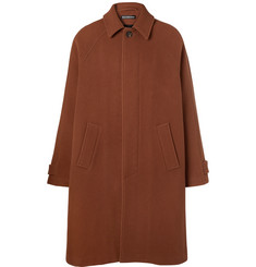 Balenciaga Oversized Virgin Wool Coat