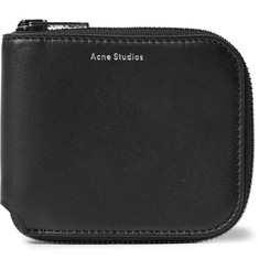 Acne Studios Kei S Leather Zip-Around Wallet