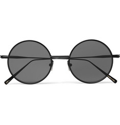 Acne Studios - Scientist Round-Frame Matte-Metal Sunglasses
