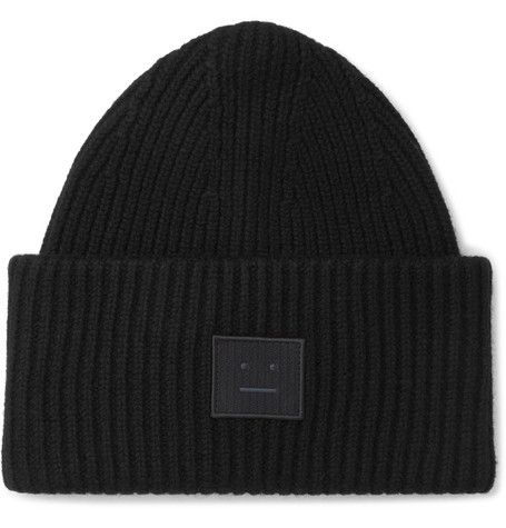 Ribbed Wool Beanie by Acne Studios