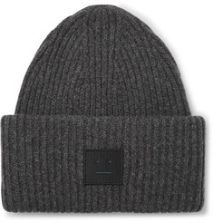 Acne Studios Ribbed Wool-Blend Beanie