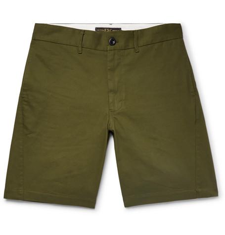 Cotton Twill Shorts by Freemans Sporting Club